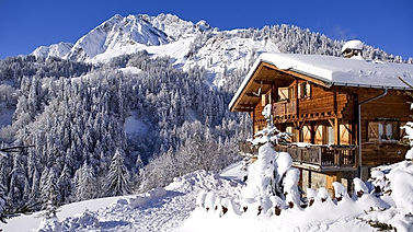luxury chalet for sale in France