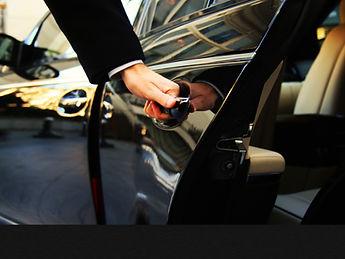 chauffeured luxury car