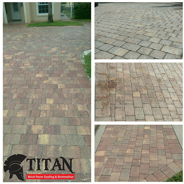 Paver cerand and sealing in Jupiter, Florida