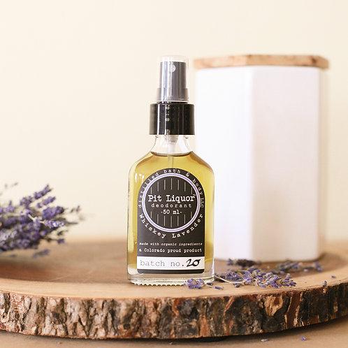 Pit Liquor Deodorant Whiskey Lavender