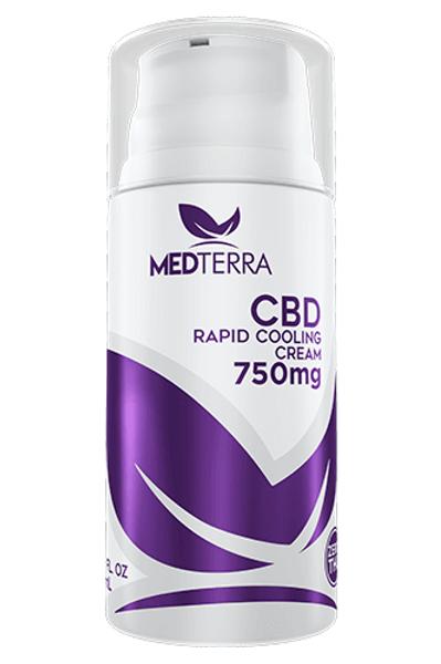 CBD Rapid Cooling Cream 750mg