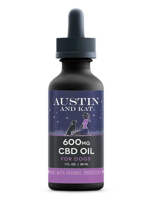 Austin And Kat 600mg pet oil