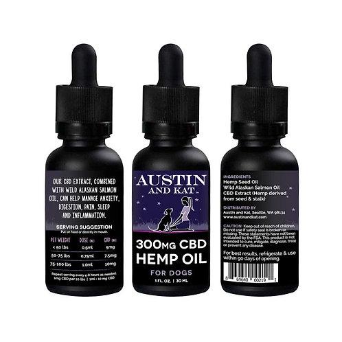 Austin And Kat 300mg pet oil