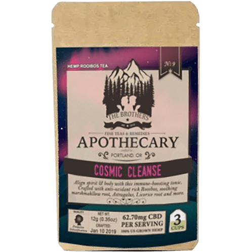 Brothers Apothecary CBD Cosmic Cleanse Tea