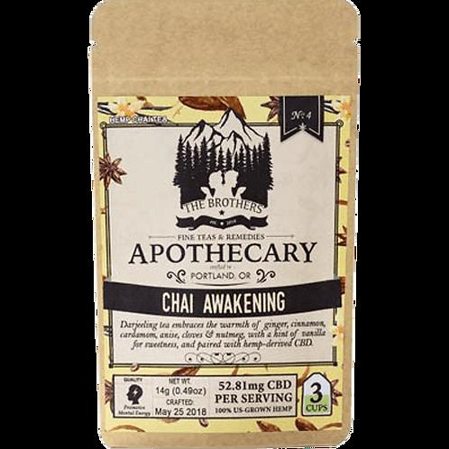 Brothers Apothecary CBD Chai Awakening Tea