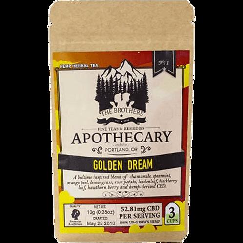 Brothers Apothecary CBD Golden Dream Tea