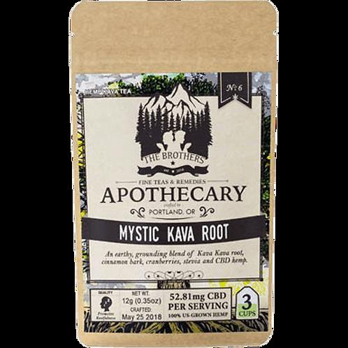 Brothers Apothecary CBD Mystic Kava Root Tea