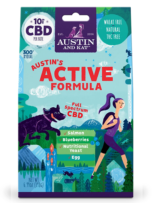 Austin's Active Recovery Biscuit