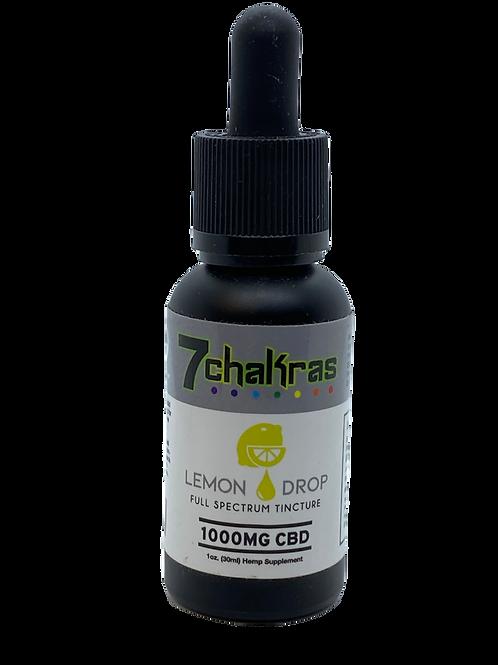 7 Chakras 1000mg Lemon Drop