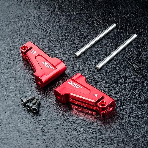 210575R MST RMX 2.0 Alum. upper arm set (red)
