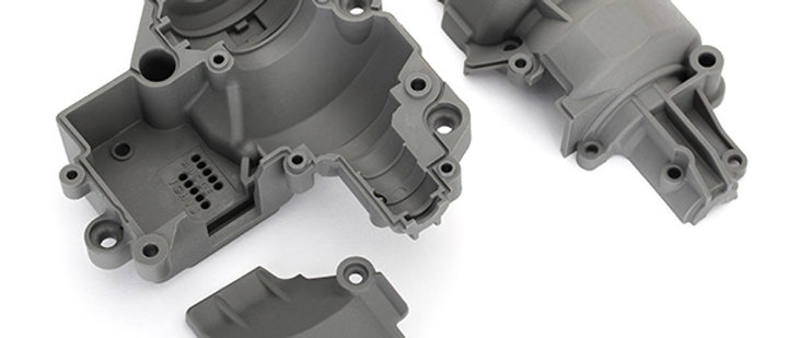 TRA8591 Traxxas Gearbox housing (includes upper housing, lower housing,