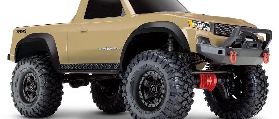 TRA82024 Traxxas TRX-4 Sport 1/10 Scale 4X4 Trail Truck beige