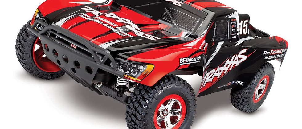 TRA58034 Traxxas Slash 2WD 1/10 RTR Electric Short Course Truck Red, 7-cell Ni