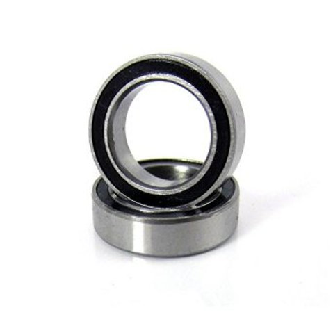 TRA5119A Traxxas Ball bearings, black rubber sealed (10x15x4mm) (2)