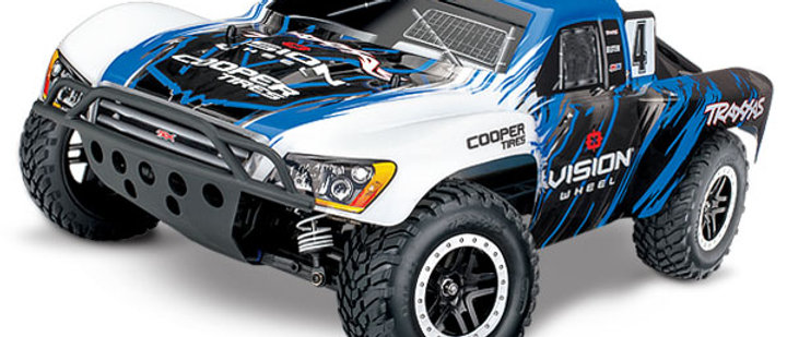 TRA68086-4 Traxxas Slash 4X4 Brushless 1/10 4WD RTR Short Course Vision