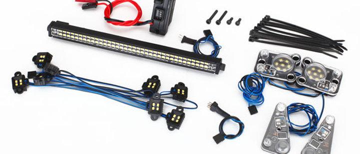 TRA8030 Traxxas LED light set, complete (contains rock light kit, LED lightbar