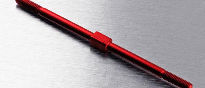 210218R Alum. turnbuckle 3X68 (red)