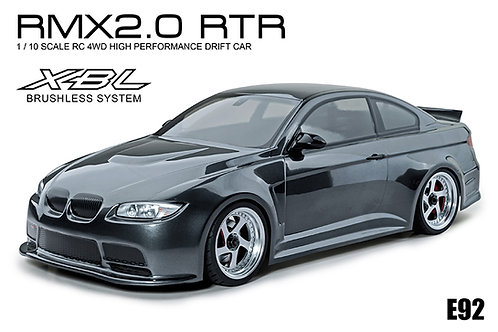 533716GR MST RMX 2.0 1/10 2WD Brushless RTR Drift Car w/BMW E92 Body (Grey)