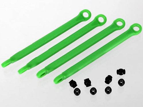 TRA7118G Traxxas Push Rod (Molded Composite) (Green) (4)/ Hollow Balls (8)
