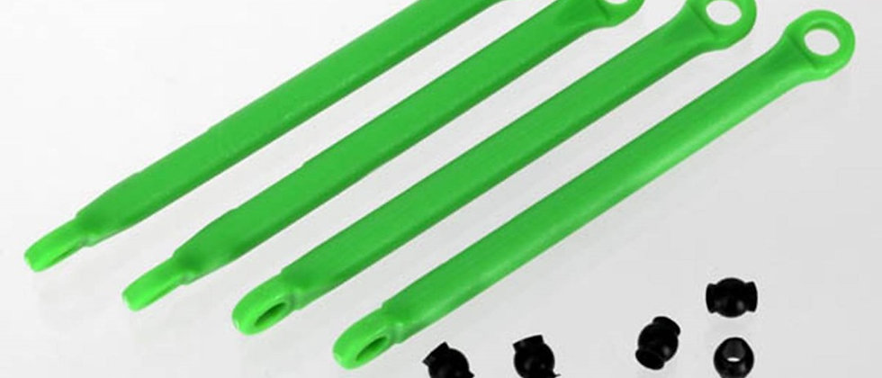 TRA7118G Traxxas Push Rod (Molded Composite) (Green) (4)/ Hollow Balls (8)
