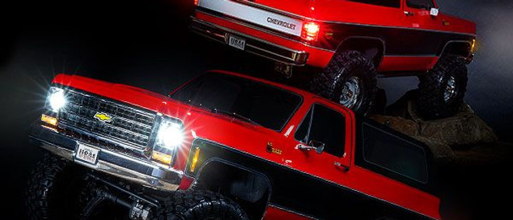 Traxxas Blazer Led light set, complete with power supply (contains headlights,