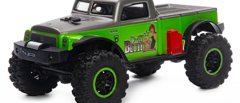 1/24 SCX24 B-17 Betty Limited Edition 4WD RTR