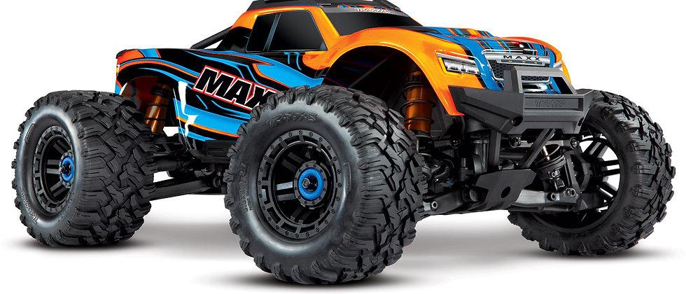 Traxxas Maxx 1/10 Brushless RTR 4WD Monster Truck (Orange)w/TQi 2.4GHz RadioTSM