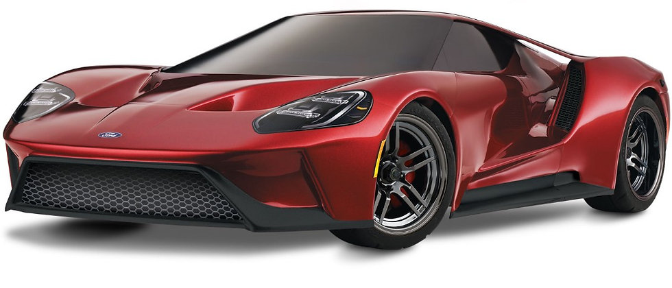 Traxxas Ford GT 1/10 Scale AWD 4-TEC rouge