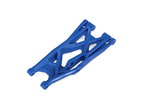 TRA7830X Traxxas Suspension arm, blue, lower (right, front or rear),