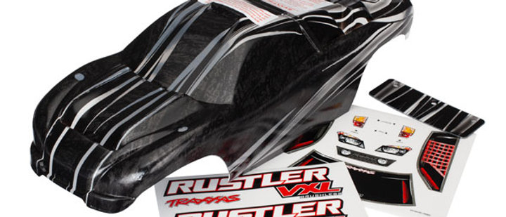 TRA3719 Traxxas Body, Rustler VXL, ProGraphix (replacement for the painted body.