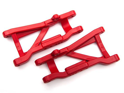 Traxxas Suspension arms, rear (red) (2) (heavy duty, cold weather material)