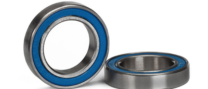 TRA5106 Traxxas Ball bearing, blue rubber sealed (15x24x5mm) (2)