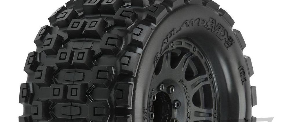 """Pro10127-10 Pro-Line Badlands MX38 3.8"""" MTD Raid 8x32 17mm MT F/R"""