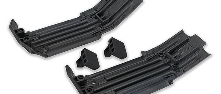 TRA7744 Traxxas X-Maxx Front & Rear Skidplate w/Rubber Impact Cushion