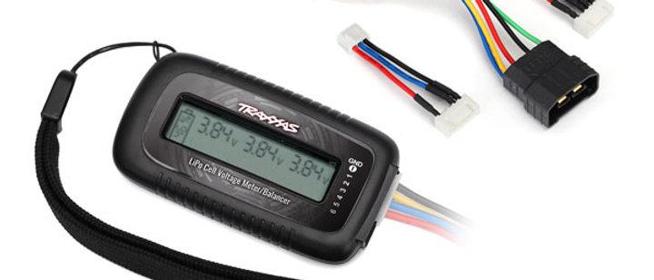 TRA2968X Traxxas LiPo cell voltage checker/balancer (includes #2938X)