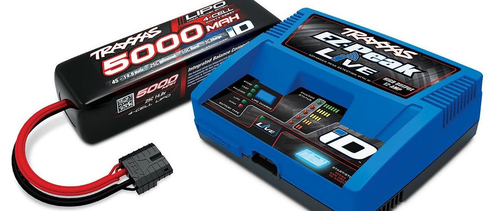 TRA2996X Traxxas EZ-Peak Live 100W Multi-Chemistry Battery Charger (TRA2971)