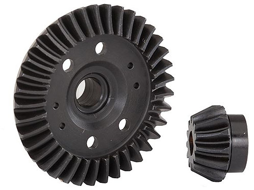 Traxxas Ring gear, differential/ pinion gear, differential (machined,