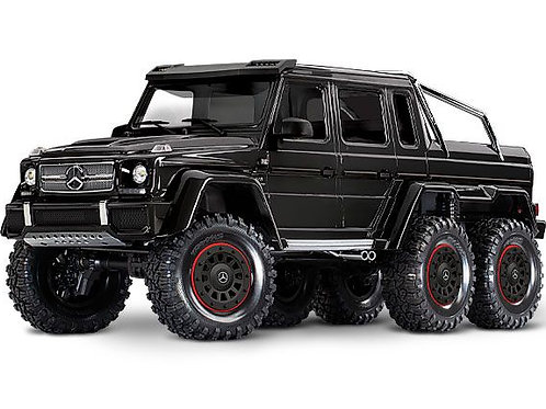 TRA88096-4BLACK Traxxas Mercedes-Benz G 63 AMG TRX6 6x6 1/10 Crawl , , Black
