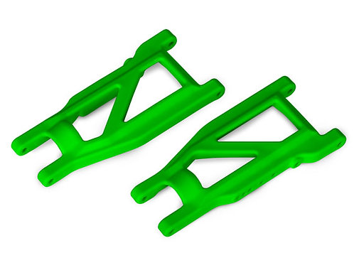 Traxxas Suspension arms, green, front/rear (left & right) (2) (