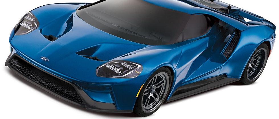 Traxxas Ford GT 1/10 Scale AWD4-TEC bleu