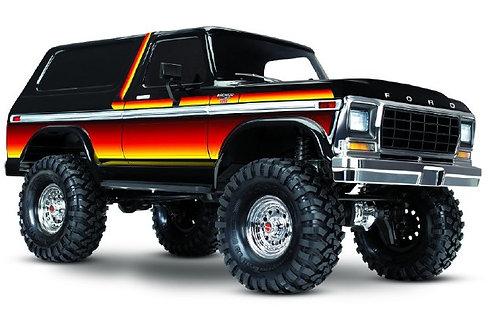 Traxxas TRX4 79 Ford Bronco 1/10 Crawler, XL-5 HV, Titan 12T