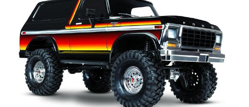 TRA82046-4SUNSET  TRX4 79 Ford Bronco 1/10 Crawler, XL-5 HV, Titan 12T