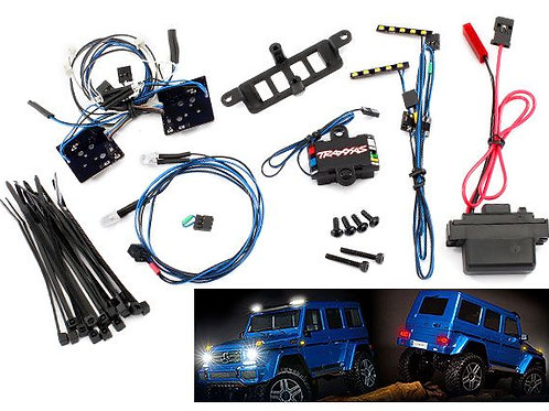 TRA8898 Traxxas Mercedes LED light set, complete with power supply