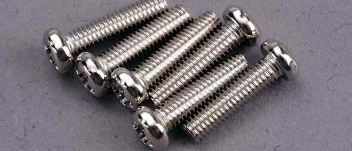 TRA2561 Traxxas 3x12mm Button Head Machine Screw (6)