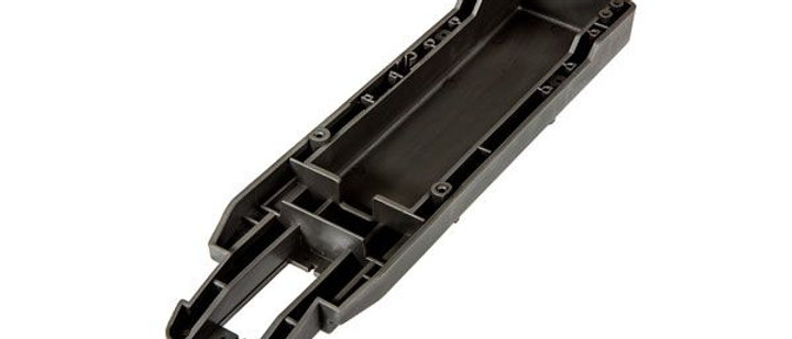 TRA3622X Traxxas Main chassis (black) (164mm long battery compartment) (