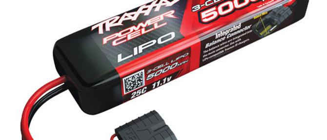 TRA2872X Traxxas 5000mAh 3S 11.1V 25C LiPo iD Connector Soft Case 155x25x45mm