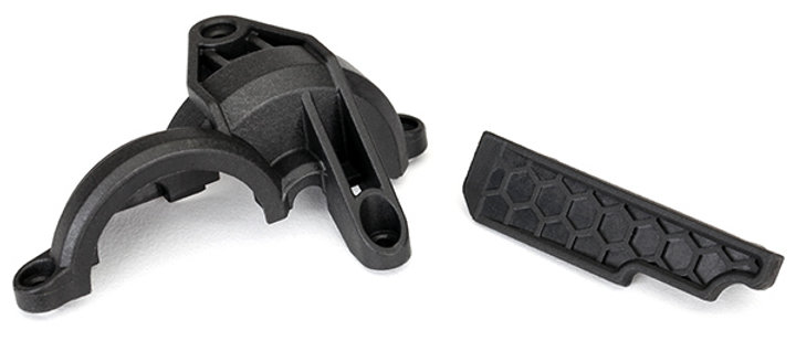 TRA8323 Traxxas Gear cover (rear chassis brace)/ wire retainer