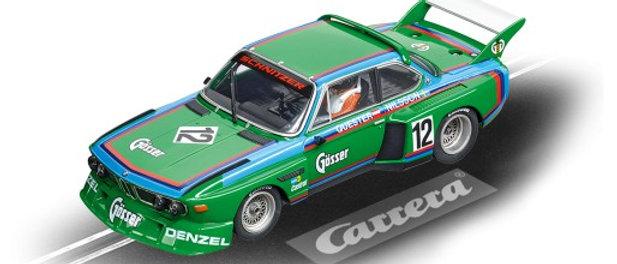 """30897 Carrera DIGITAL 132  BMW 3.5 CSL """"No.12"""", 1976"""