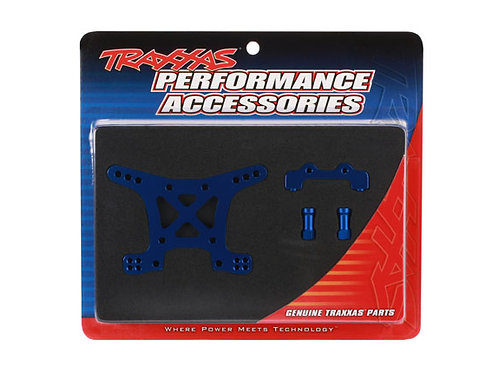 TRA6839X Traxxas Aluminum Front Shock Tower (Blue)