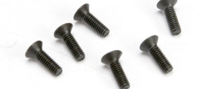 TRA2524 Traxxas 2.5X8mm Flat Head Screws (6)